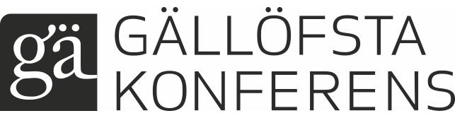 Gallofsta Konferens